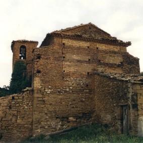 Iglesia de Puibolea antes de los desastres 2