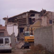 Derribo casa Puértolas 1