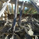 Apudepa alerta sobre el riesgo de inminente derrumbe de la ermita de Gañarul