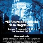"""Sesión sobre """"el futuro de la iglesia de La Magdalena"""""""