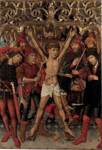 Tomás Giner, Martirio de San Vicente, catálogo de TEFAF Maastricht