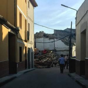 casa La Almolda derribo