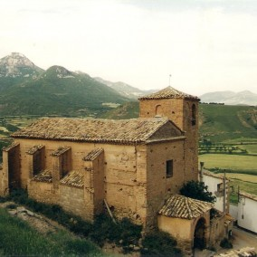 Iglesia de Puibolea antes de los desastres 1