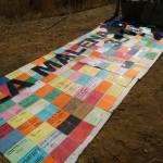 Apudepa alerta de que los mosaicos y pinturas de La Malena han entrado en una fase de grave deterioro