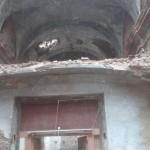 Nuevo derrumbe en Ruesta: la bóveda del atrio de la iglesia ha caído