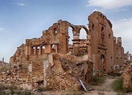 Iglesia del convento de San Rafael. Pueblo viejo de Belchito.